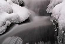 Wasser im Winter